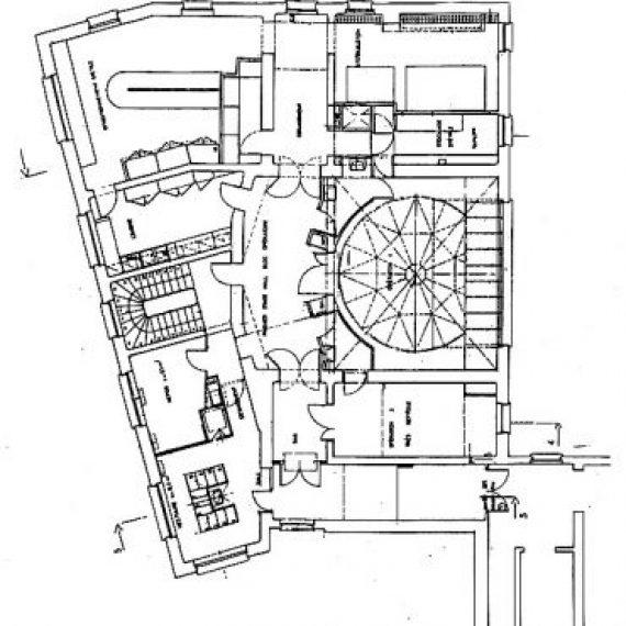 Bloc opératoire Pasteur et soins intensifs du pavillon Bouilly – Hôpital Cochin