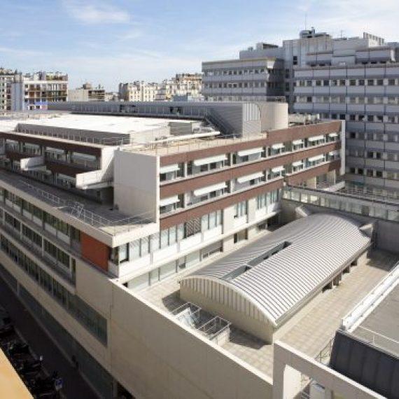 Construction de la maternité, niveau 3 – Hôpital Armand Trousseau